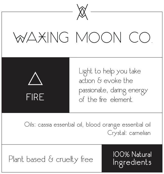 Waxing Moon Lg Label_FIRE